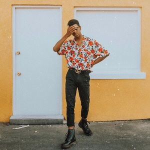 Urban outfitters floral shirt